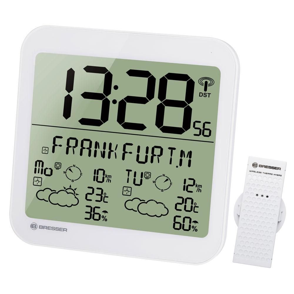 Statie meteo Bresser MyTime 7001900GYE000, termometru, higrometru, alarma