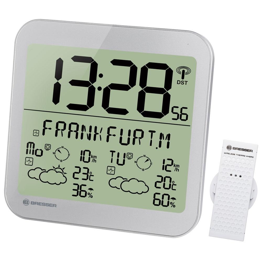 Statie meteo Bresser MyTime 7001900HZI000, termometru, higrometru, alarma imagine spy-shop.ro 2021