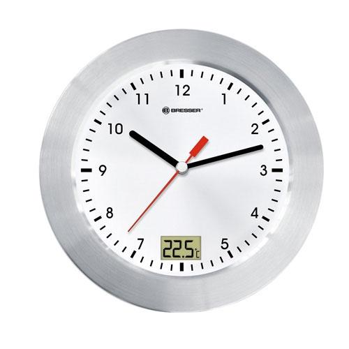 Ceas de perete cu termometru Bresser MyTime 8020112 imagine spy-shop.ro 2021