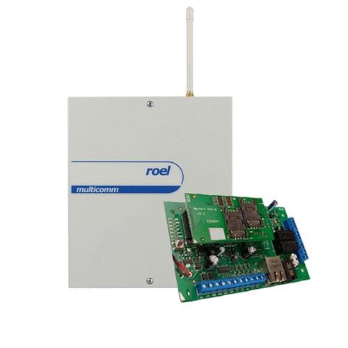 CENTRALA ALARMA ANTIEFRACTIE CERBER C816 IP/GPRS - COMBO