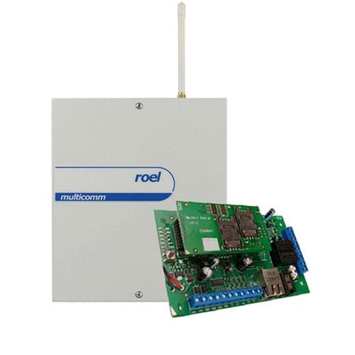 CENTRALA ALARMA ANTIEFRACTIE CERBER C816W IP/GPRS - COMBO