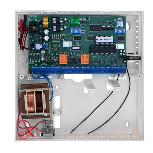 Centrala control acces CARDAX N32C, 32 usi, 6000 utilizatori, 2500 evenimente imagine