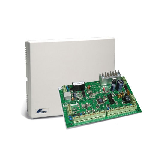 CENTRALA ALARMA ANTIEFRACTIE CROW POWER WAVE 16 LCD