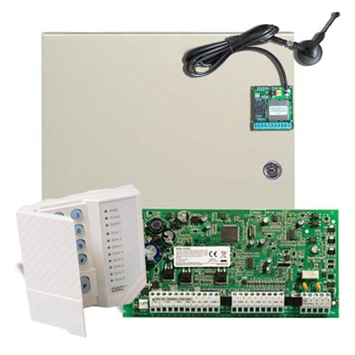 CENTRALA ALARMA ANTIEFRACTIE DSC POWER PC 1616-GPRS
