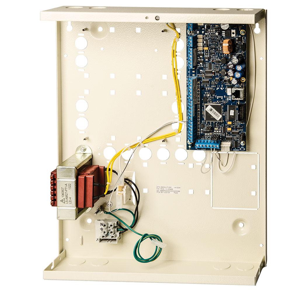 Centrala alarma antiefractie hibrid UTC Advisor Advanced ATS3500A-IP-MM, 8 partitii, 8-128 zone, 200 utilizatori imagine