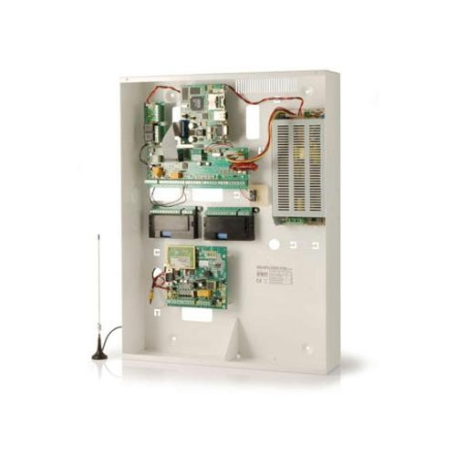 Centrala alarma antiefractie Inim SmartLiving 10100L, 20 zone, 15 partitii, 100 coduri utilizator