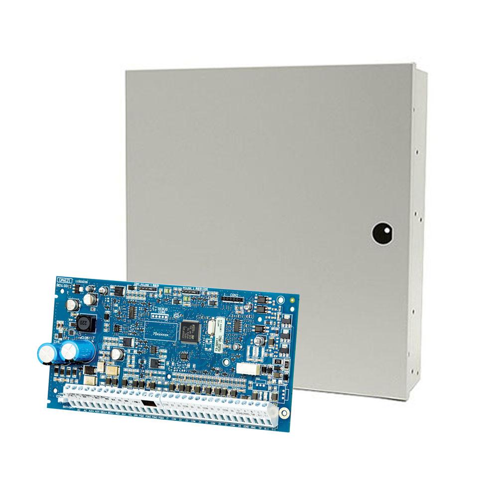 Centrala alarma antiefractie NEO DSC NEO-2032NK cu cutie PC5003, 4 partitii, 8 zone, 72 utilizatori imagine