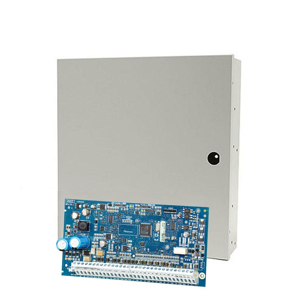 Centrala alarma antiefractie DSC NEO-2128 cu cutie PC5003, 8 partitii, 8 zone, 95 utilizatori imagine