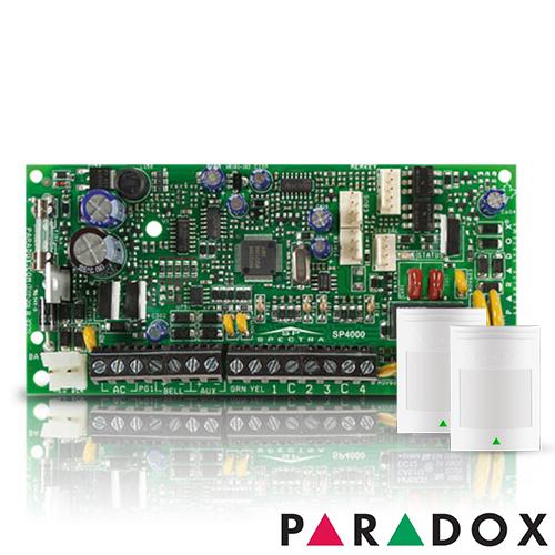 CENTRALA ALARMA ANTIEFRACTIE PARADOX SPECTRA SP 4000+476+