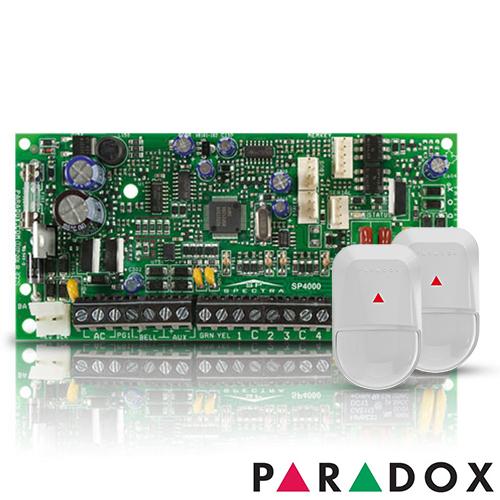 CENTRALA ALARMA ANTIEFRACTIE PARADOX SPECTRA SP 4000+NV5-SB