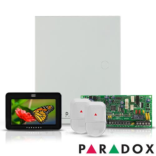 CENTRALA ALARMA ANTIEFRACTIE PARADOX SPECTRA SP 4000+TM50+NV5-SB