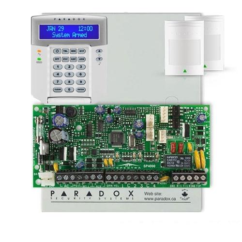 Centrala alarma antiefractie Paradox Spectra SP 4000+K32LCD imagine