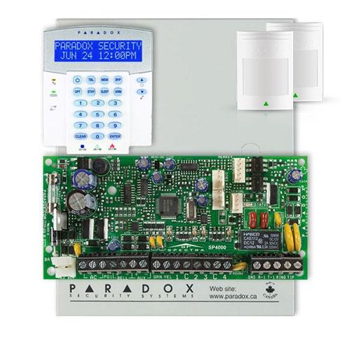 Centrala alarma antiefractie Paradox Spectra SP 4000+K32LX+2x476+ imagine