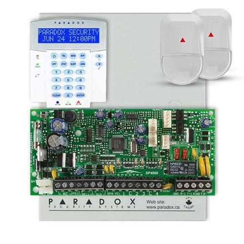 Centrala alarma antiefractie Paradox Spectra SP 4000+K32LX+2xNV5-SB imagine