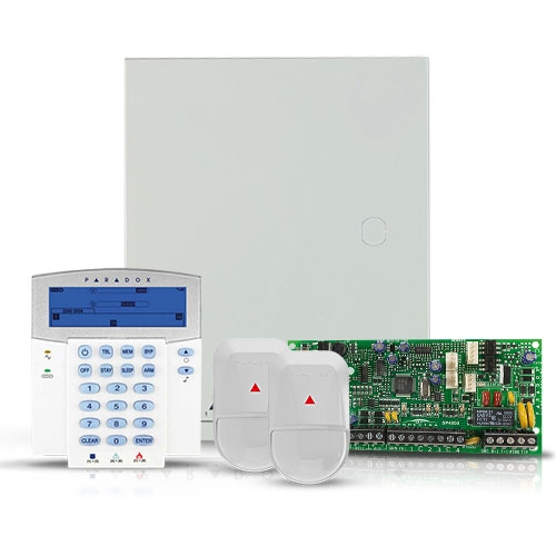 Centrala alarma antiefractie Paradox Spectra SP 4000+K35+2xNV5-SB imagine