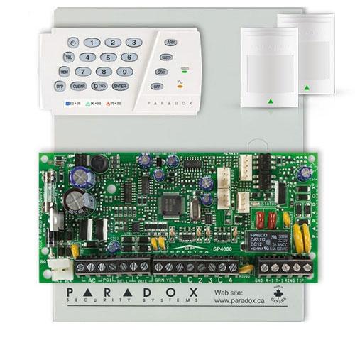 Centrala alarma antiefractie Paradox SP 4000+K636+PRO(476+) imagine