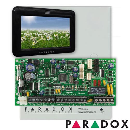 CENTRALA ALARMA ANTIEFRACTIE PARADOX SPECTRA SP 4000+TM50