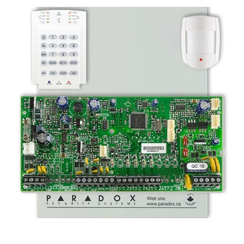 Centrala alarma antiefractie Paradox Spectra SP 5500+DG55+K10V imagine