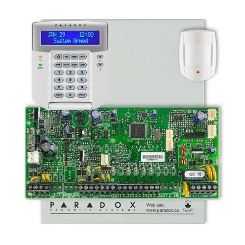 Centrala alarma antiefractie Paradox Spectra SP 5500+DG55+K32LCD imagine