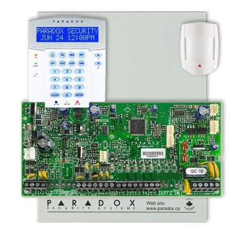 Centrala alarma antiefractie Paradox Spectra SP 5500+DG55+K32LX imagine