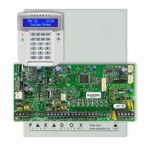 Centrala alarma antiefractie Paradox Spectra SP 5500+K32LCD+ imagine