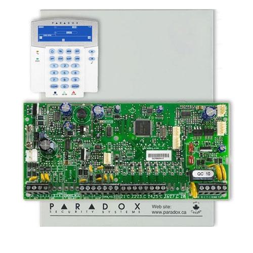 Centrala alarma antiefractie Paradox Spectra SP 5500+K35 imagine