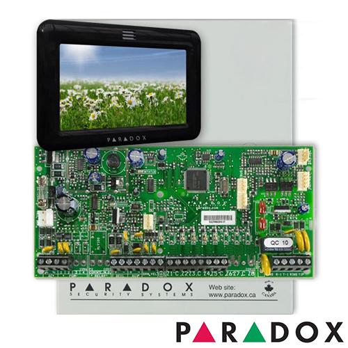 CENTRALA ALARMA ANTIEFRACTIE PARADOX SPECTRA SP 5500+TM50
