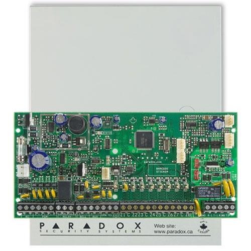 Centrala alarma antiefractie Paradox Spectra SP 6000, carcasa metalica cu traf, 8 zone, 2 partitii imagine spy-shop.ro 2021