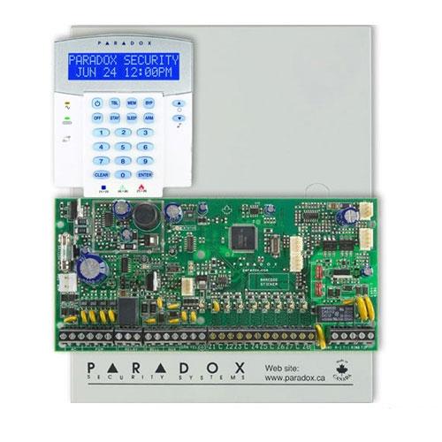 Centrala alarma antiefractie Paradox Spectra SP 6000+K32LX imagine