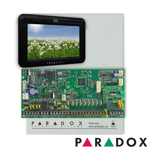 CENTRALA ALARMA ANTIEFRACTIE PARADOX SPECTRA SP 6000+TM50