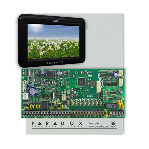 Centrala alarma antiefractie Paradox Spectra SP 6000+TM50 Touchscreen imagine