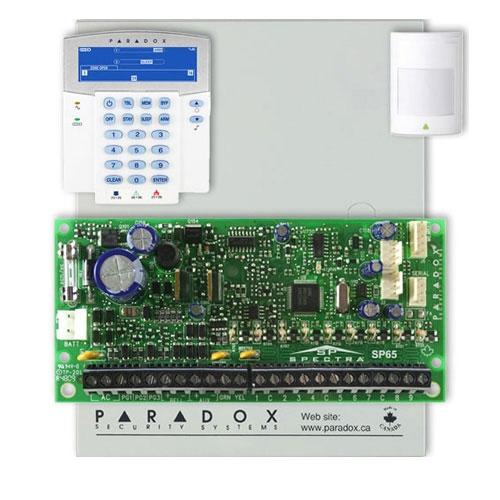 Centrala alarma antiefractie Paradox Spectra SP 65+K35 imagine