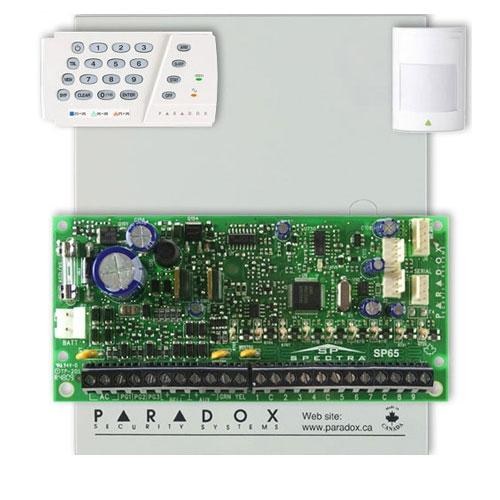 Centrala alarma antiefractie Paradox Spectra SP 65+K636 imagine