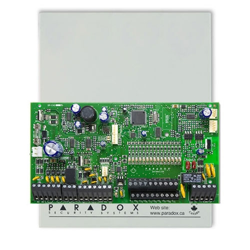 Centrala alarma antiefractie Paradox Spectra SP7000, carcasa metalica cu traf, 16 zone, 2 partitii imagine spy-shop.ro 2021