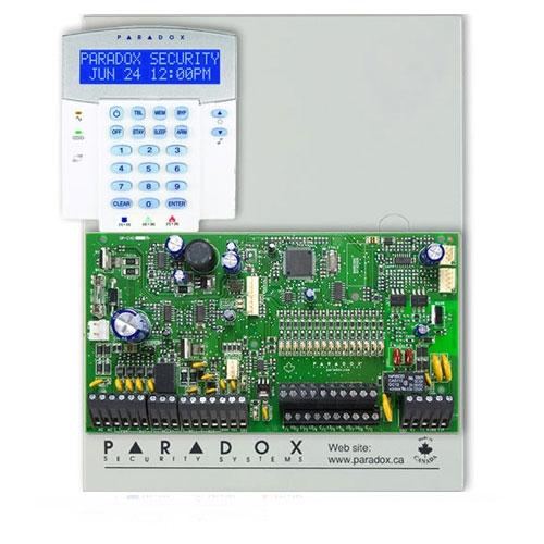 Centrala alarma antiefractie Paradox Spectra SP 7000+K32LX imagine