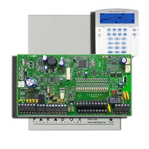 Centrala alarma antiefractie Paradox Spectra SP 7000+K35 imagine