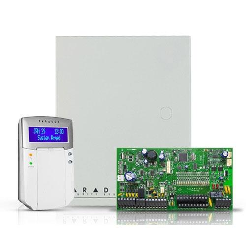 Centrala alarma antiefractie Paradox Spectra SP 6000+K32LCD+ imagine