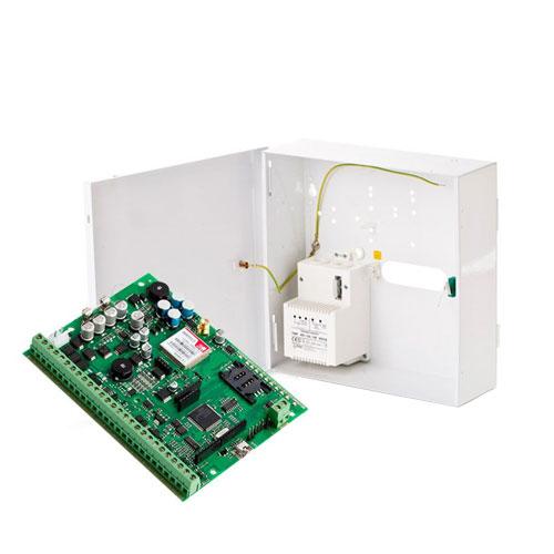Centrala alarma antiefractie wireless Eldes ESIM 364 cu cutie metalica si traf, GSM/GPRS, hibrid, max 76 zone imagine spy-shop.ro 2021