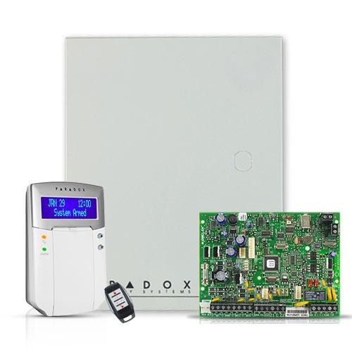 Centrala alarma antiefractie wireless Paradox Magellan MG 5000+K32LCD+REM15 imagine