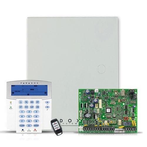 Centrala alarma antiefractie wireless Paradox Magellan MG 5000+K35+REM1 imagine