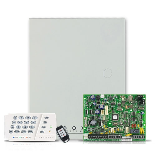Centrala alarma antiefractie wireless Paradox Magellan MG 5000+K636+REM1