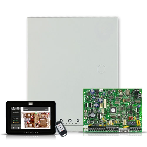 Centrala alarma antiefractie wireless Paradox Magellan MG 5000+TM50+REM15 imagine