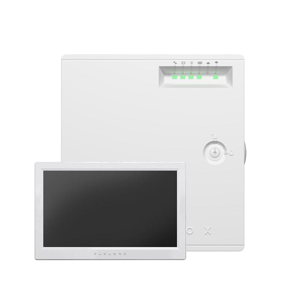 Centrala alarma antiefractie wireless Paradox Magellan MG5075 + tastatura TM70, 32 zone, 32 coduri utilizatori, 512 evenimente