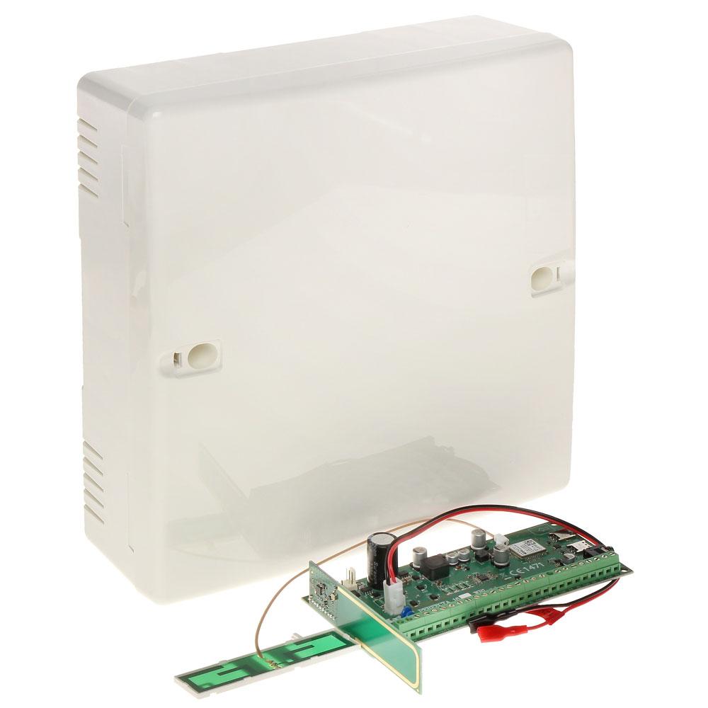 Centrala alarma antiefractie wireless Satel PERFECTA 16 WRL, 2 partitii, 8-16 zone, 4-12 iesiri, 15 utilizatori