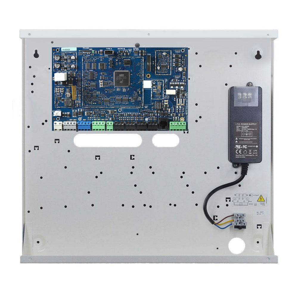 Centrala alarma antiefractie hibrid DSC PRO-HS3032, 4 partitii, 8-32 zone, 72 utilizatori, PowerG imagine