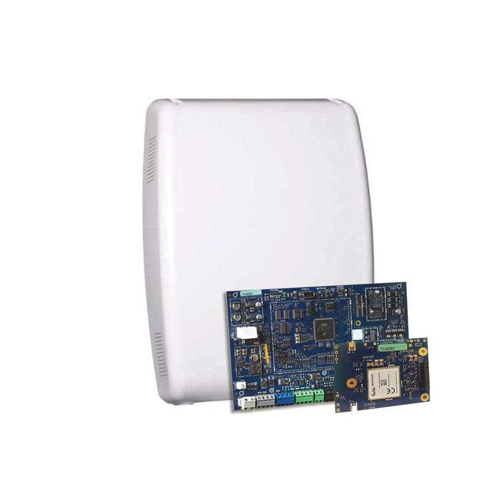 Centrala alarma antiefractie hibrid DSC PowerSeries PRO-HS3248-GSM, 4 partitii, 8-32 zone, 72 utilizatori, GPRS-3G, PowerG imagine