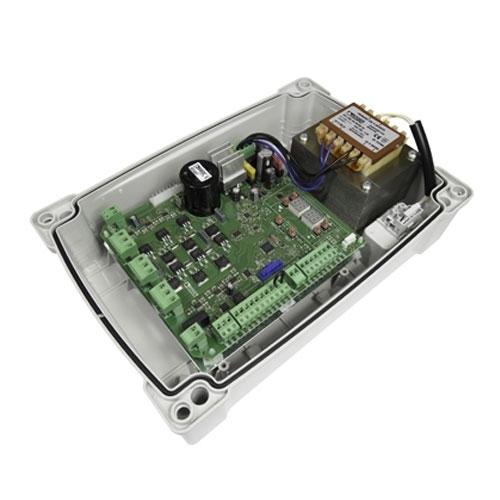 Centrala automatizare poarta batanta Roger Technology EDGE1, 230 Vac, 250 W, IP 54 imagine spy-shop.ro 2021