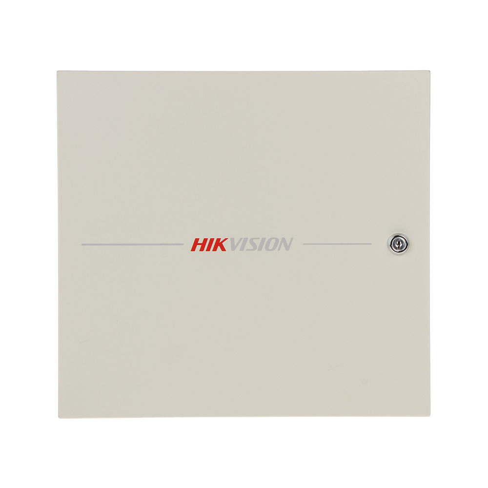 Centrala control acces Hikvision DS-K2602, Wiegand, 100.000 carduri, 300.000 evenimente, 6 iesiri, 2 usi, anti-passback