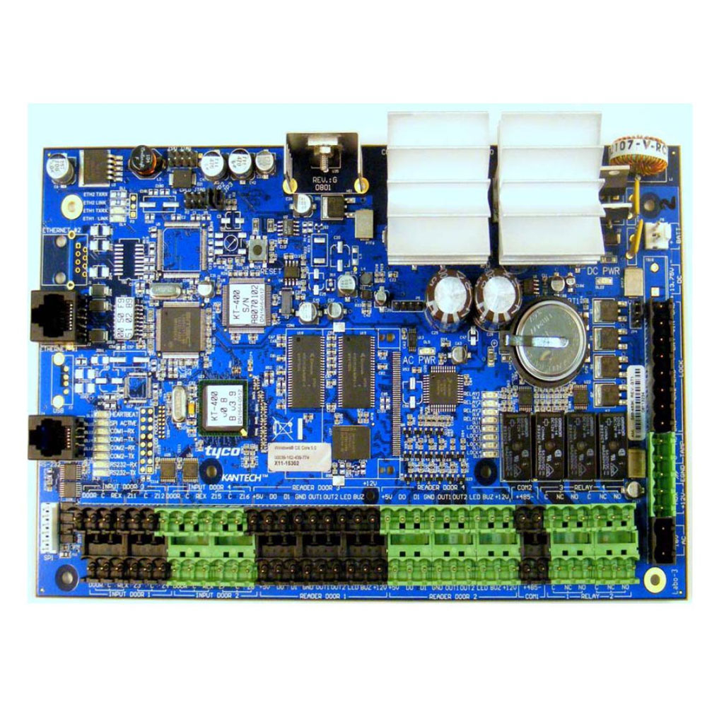 Centrala control acces Kantech KT400, 32 iesiri, 100000 carduri, 60000 evenimente imagine