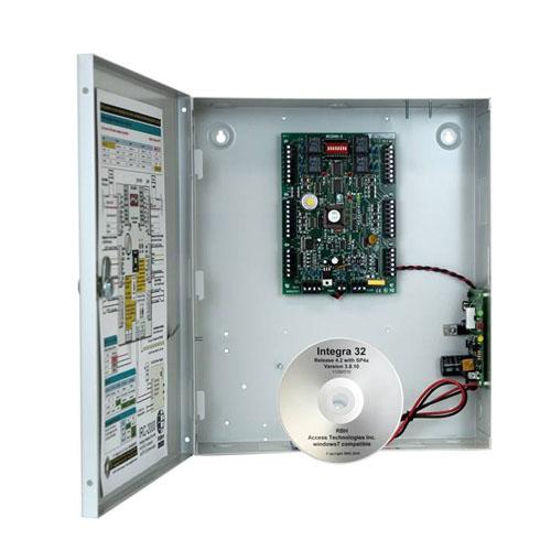 Centrala control acces RBH IRC2000BIDI, 2 usi, 5000 carduri, 3000 evenimente imagine